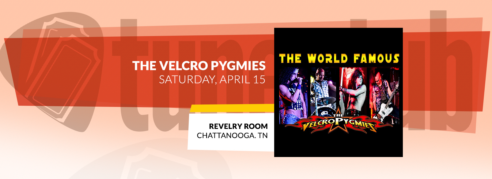 The Velcro Pygmies @ Revelry Room