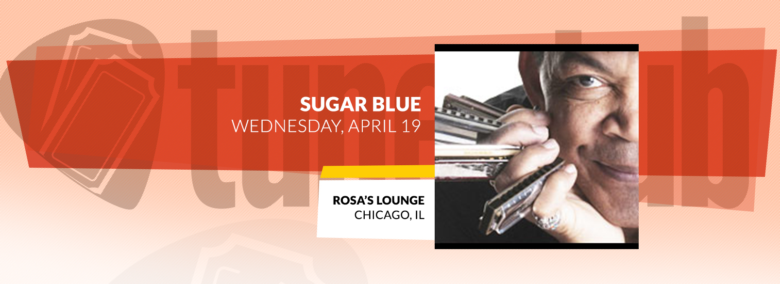 Sugar Blue @ Rosa's Lounge