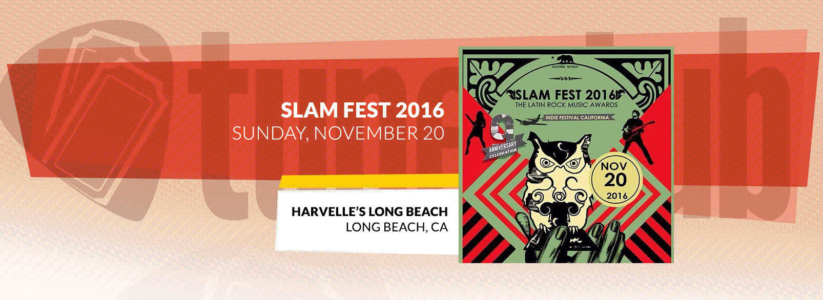 Slam Fest 2016 @ Harvelle's Long Beach