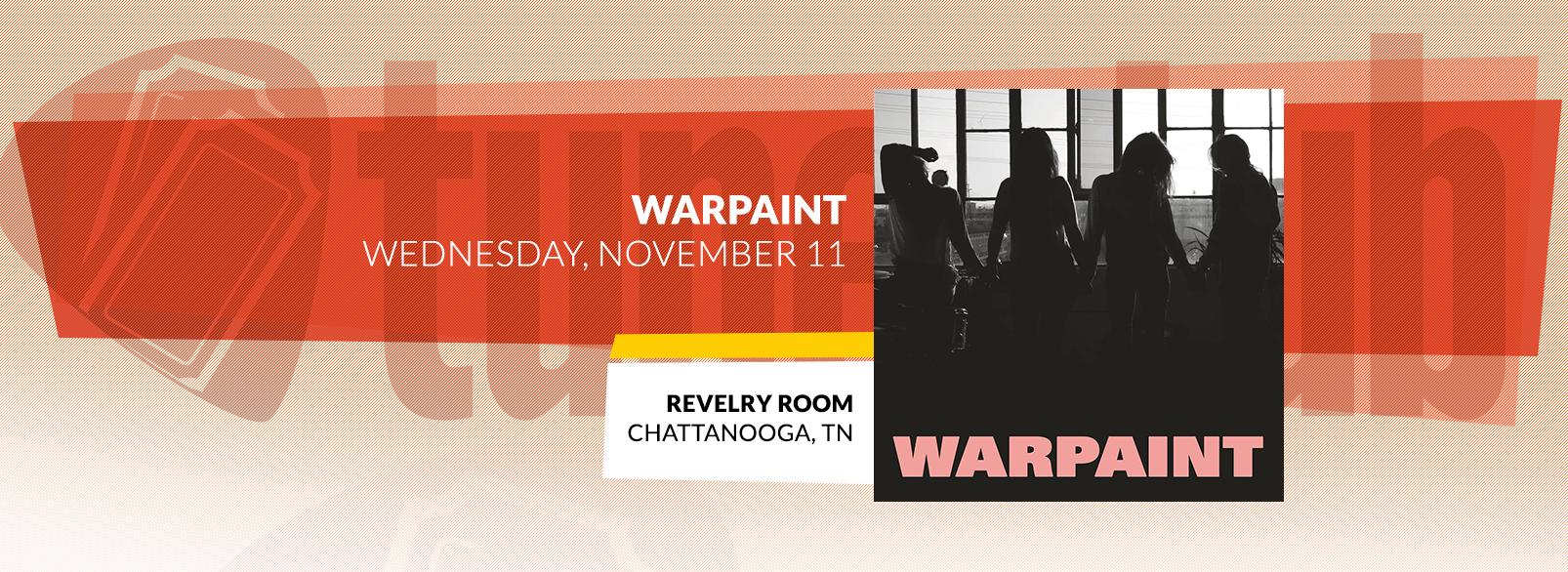 Warpaint @ Revelry Room