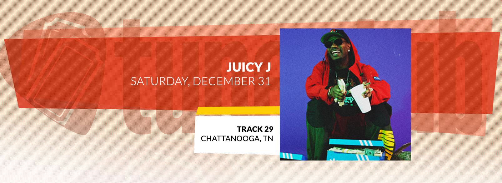 Juicy J @ Track 29