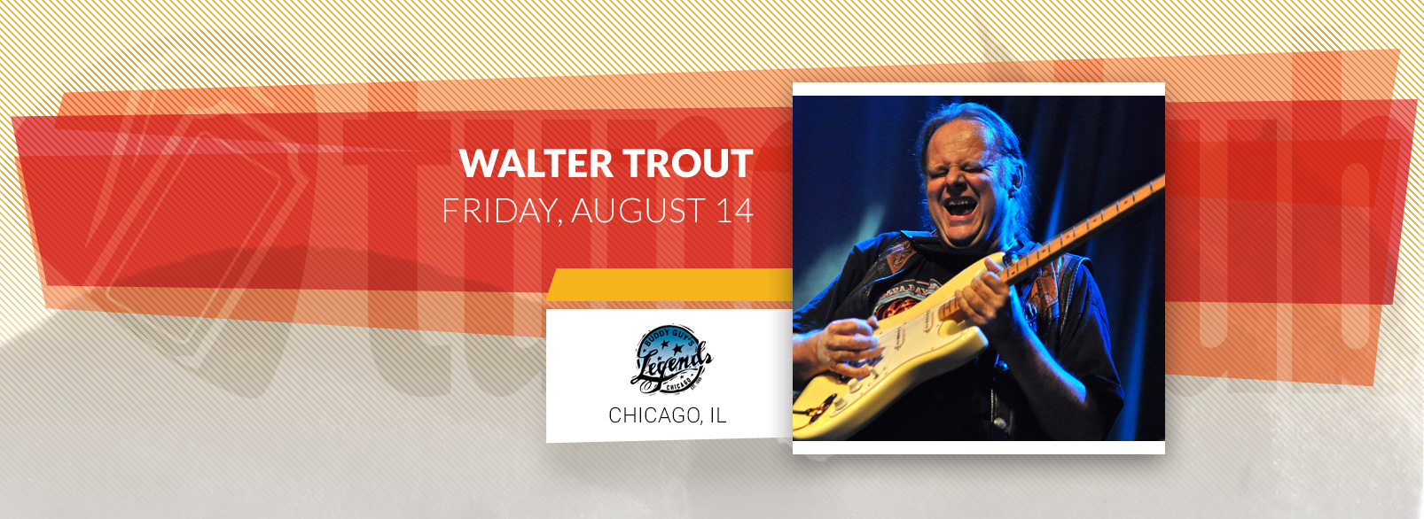 Walter Trout @ Buddy Guy's Legends