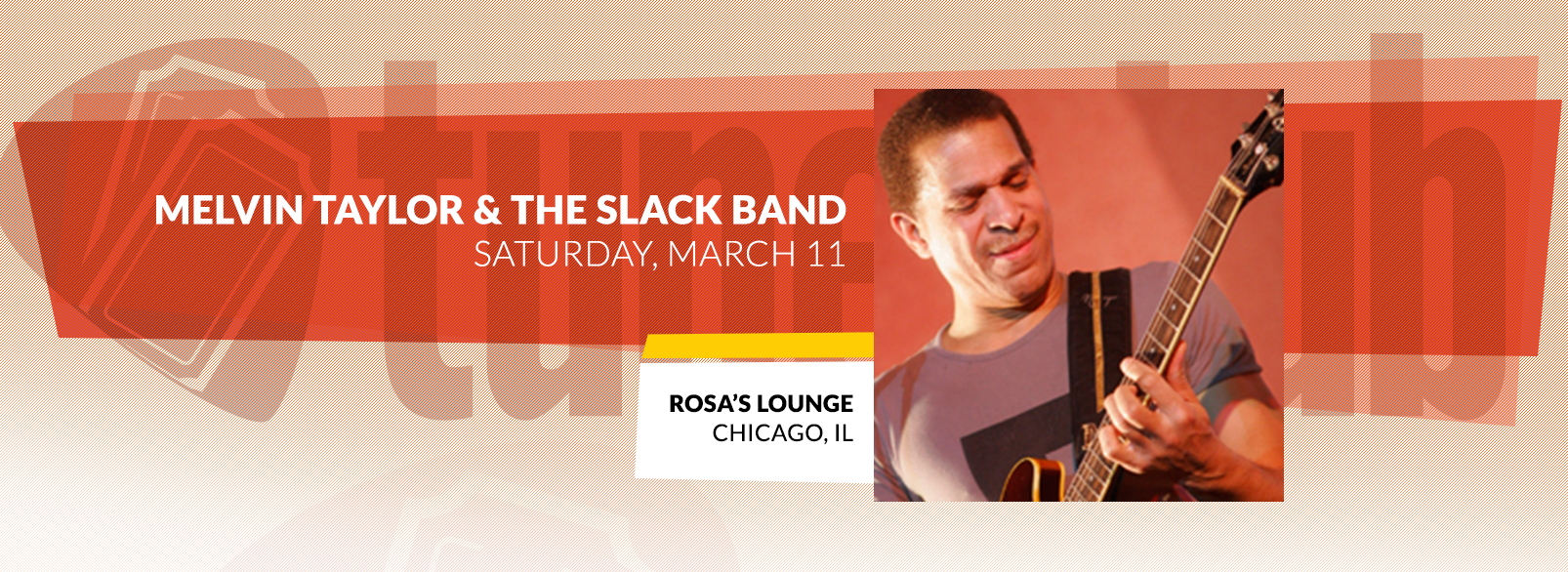 Melvin Taylor & The Slack Band @ Rosa's Lounge