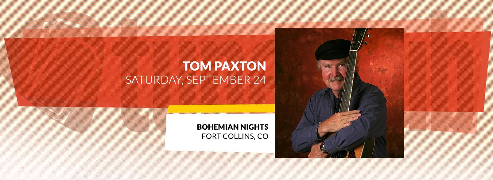Tom Paxton @ Bohemian Nights