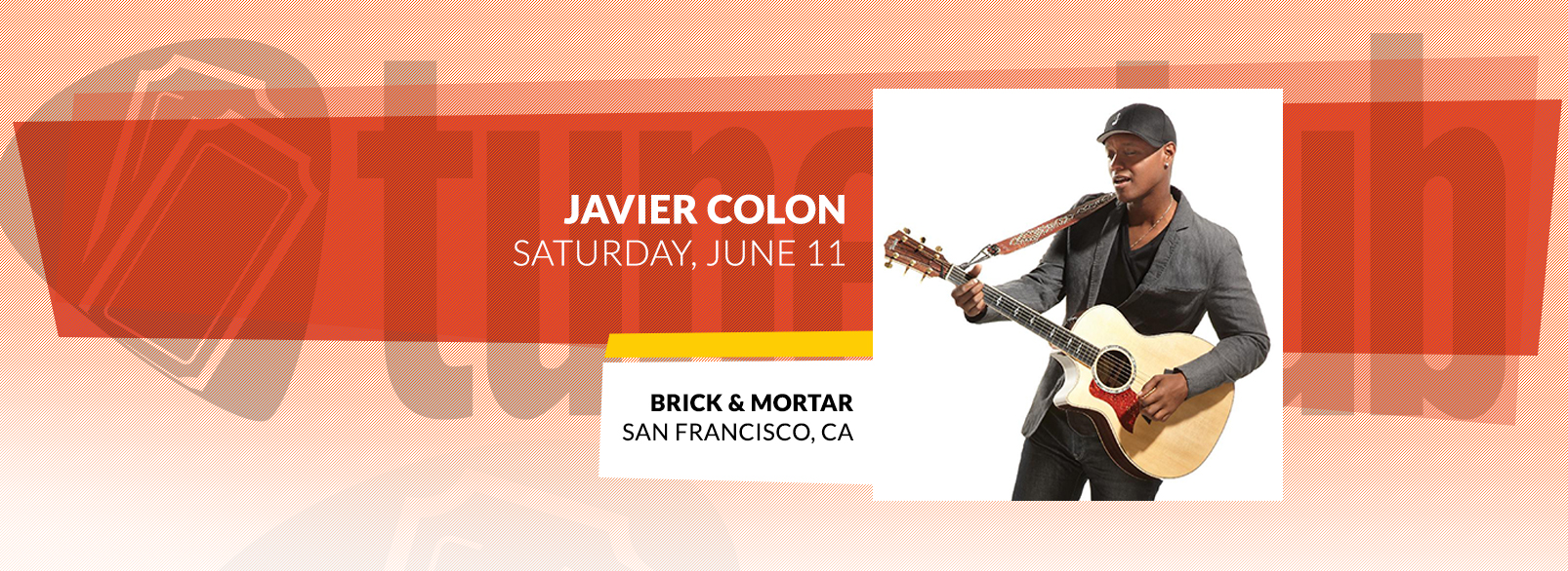 Javier Colon @ Brick & Mortar