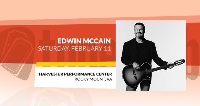 Edwin McCain @ Harvester Performance Center