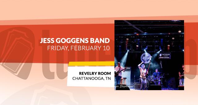 Jess Goggans Band @ Revelry Room