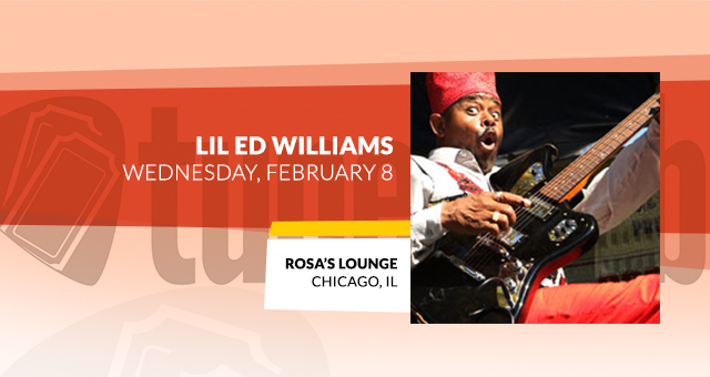 Lil' Ed Williams @ Rosa's Lounge