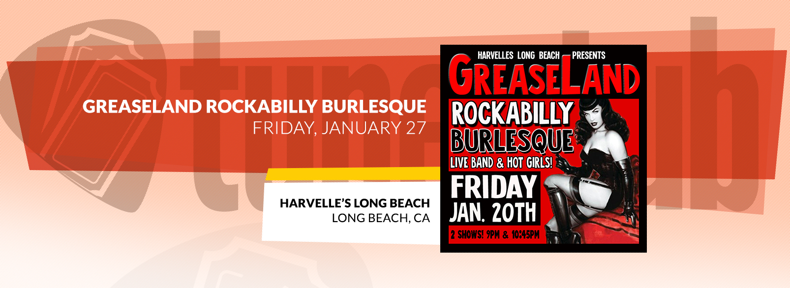 Greaseland Rockabilly Burlesque @ Harvelle's Long Beach