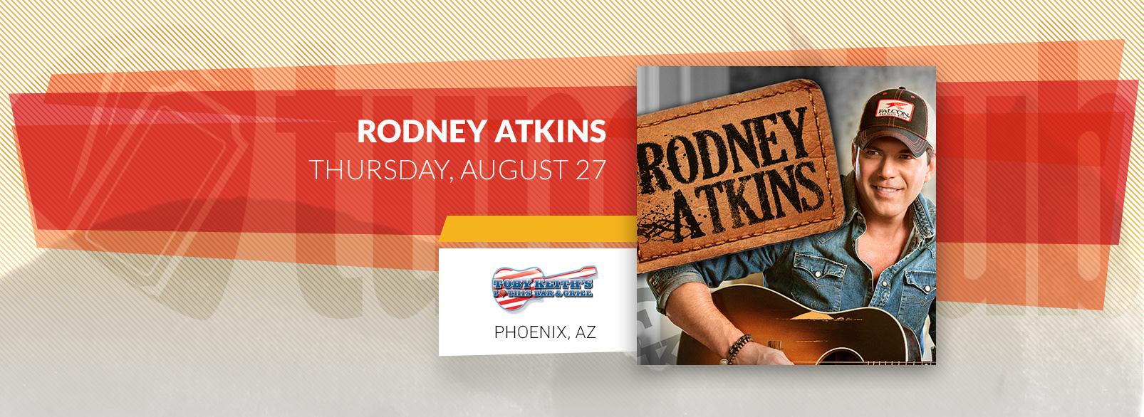 Rodney Atkins @ Toby Keith's Phoenix