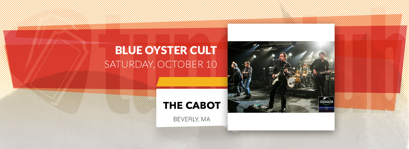 Blue Oyster Cult @ The Cabot