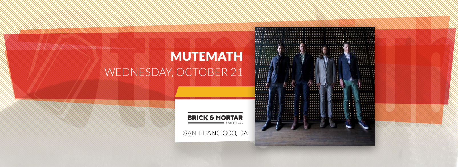 Mutemath @ Brick & Mortar