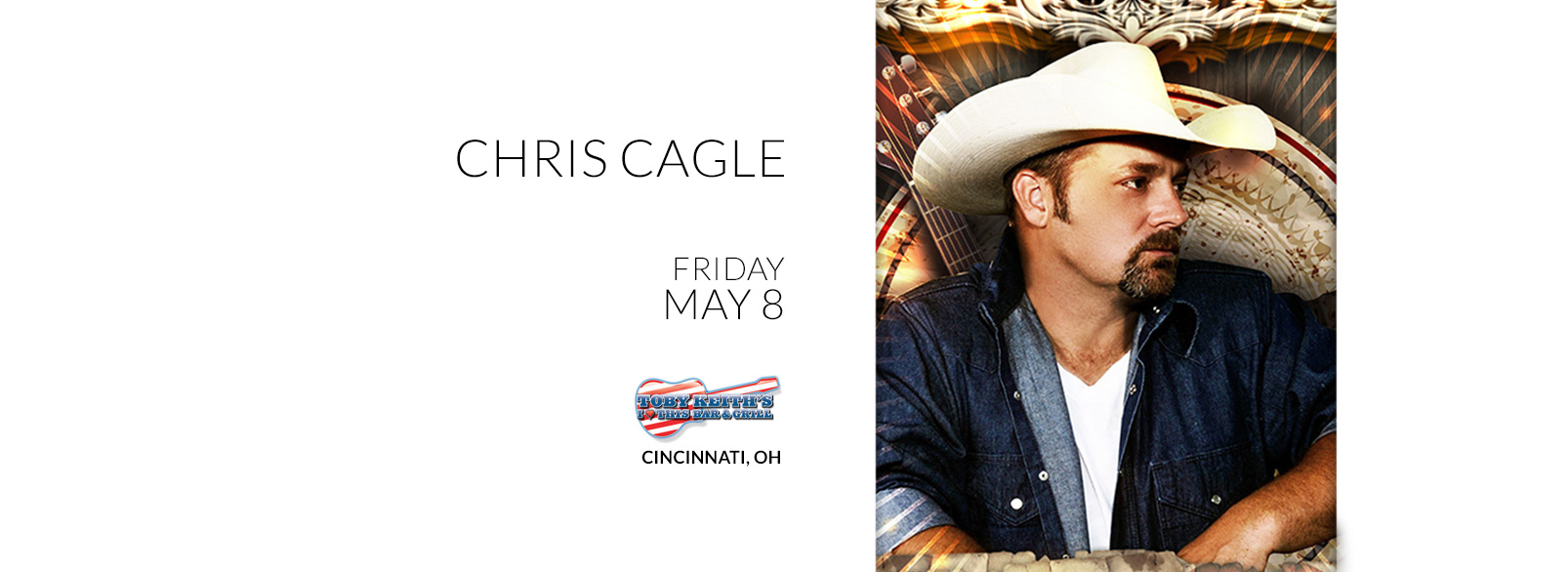 Chris Cagle @ Toby Keith's Cincinnati
