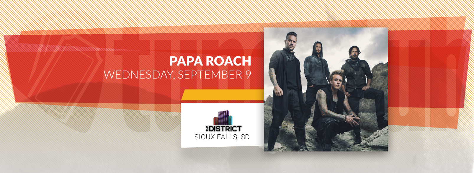 Papa Roach @ The District