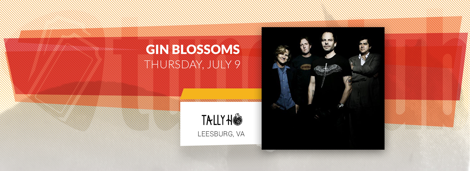 Gin Blossoms @ Tally Ho Theatre