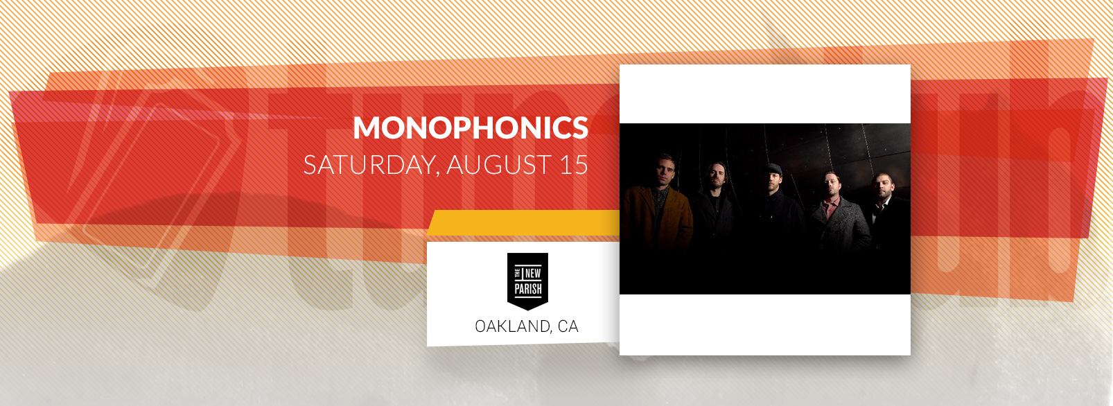 Monophonics @ New Parish