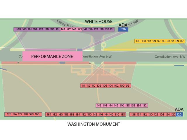 National Cherry Blossom Festival ® Map