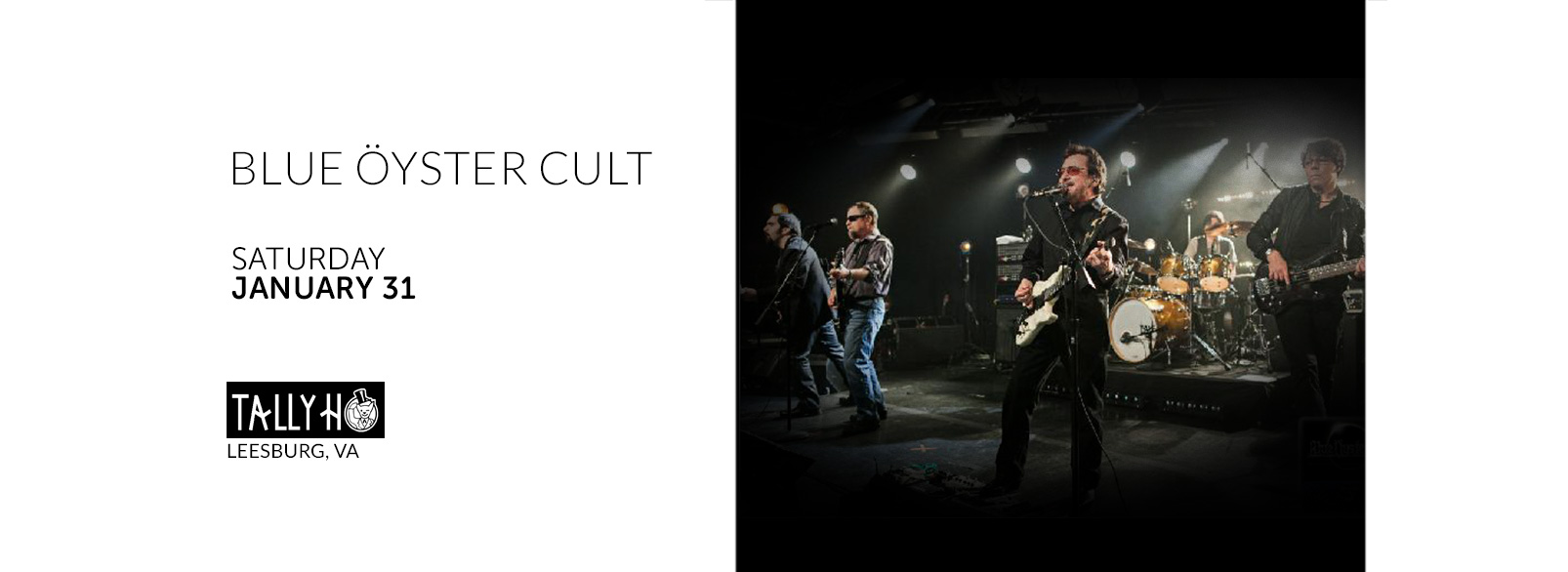 Blue Oyster Cult @ Tally Ho Theatre
