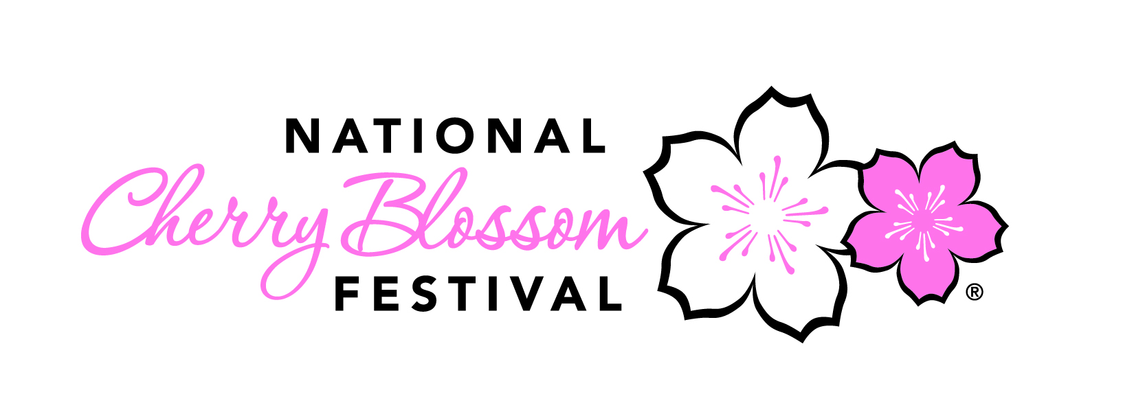 Image result for national cherry blossom festival logo