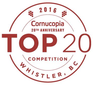 Top 20 Competition Cornucopia presented by BlueShore Financial 2016