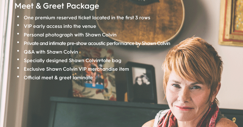 Shawn Colvin Tour Dates