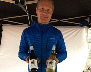 Samantha Gamay at the Whistler Farmer's Market - WhistlerCornucopia.com