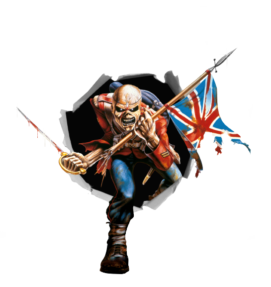 Iron Maiden Pirate Logo
