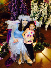 Visit the Enchanted Story Garden and meet the Fairy of Happy Dreams