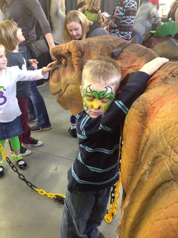 Dinosaurs Love Hugs!