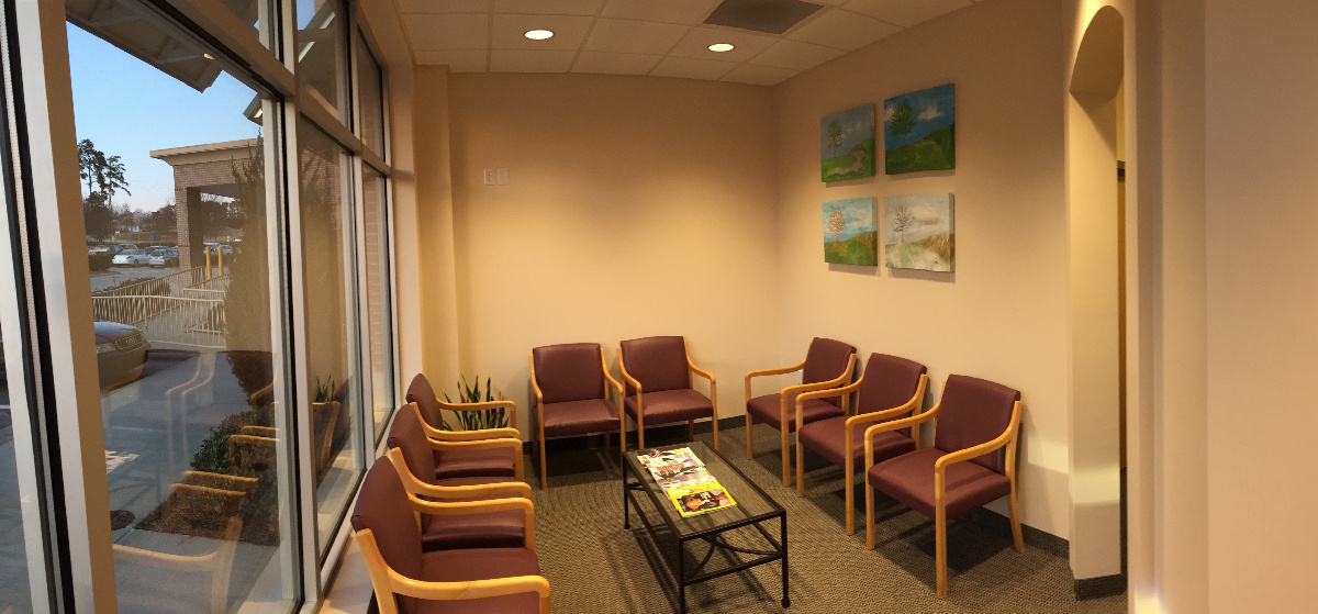 Western Wake Family Dentistry Waiting Room - Welcome