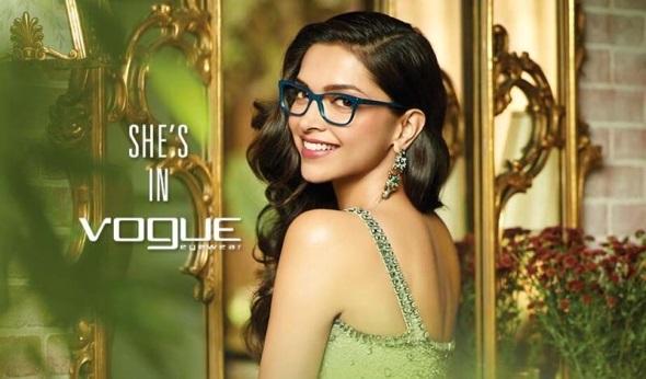 Deepika Padukone in Vouge Eyewear