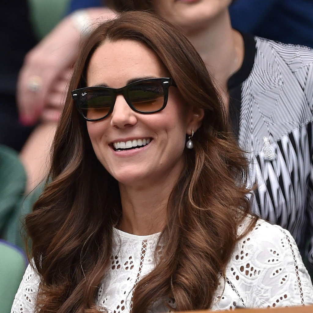 Kate Middleton In Ray-Ban Sunglasses