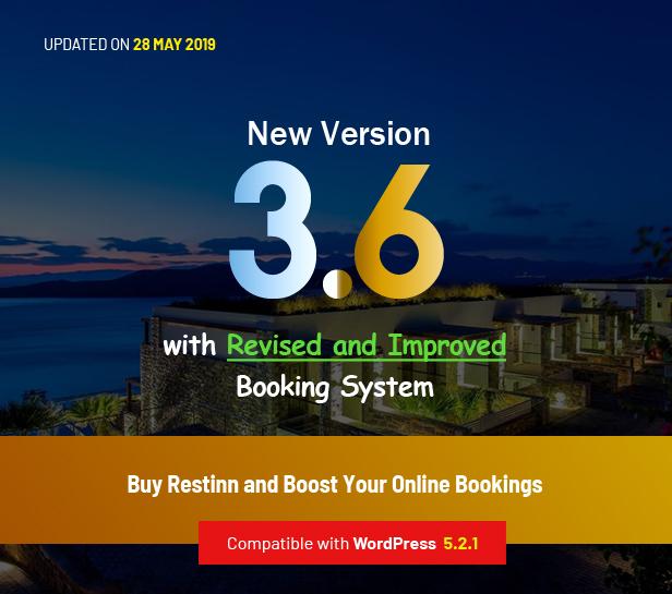 Restinn- Resort and Hotel Booking System WordPress Theme - 1