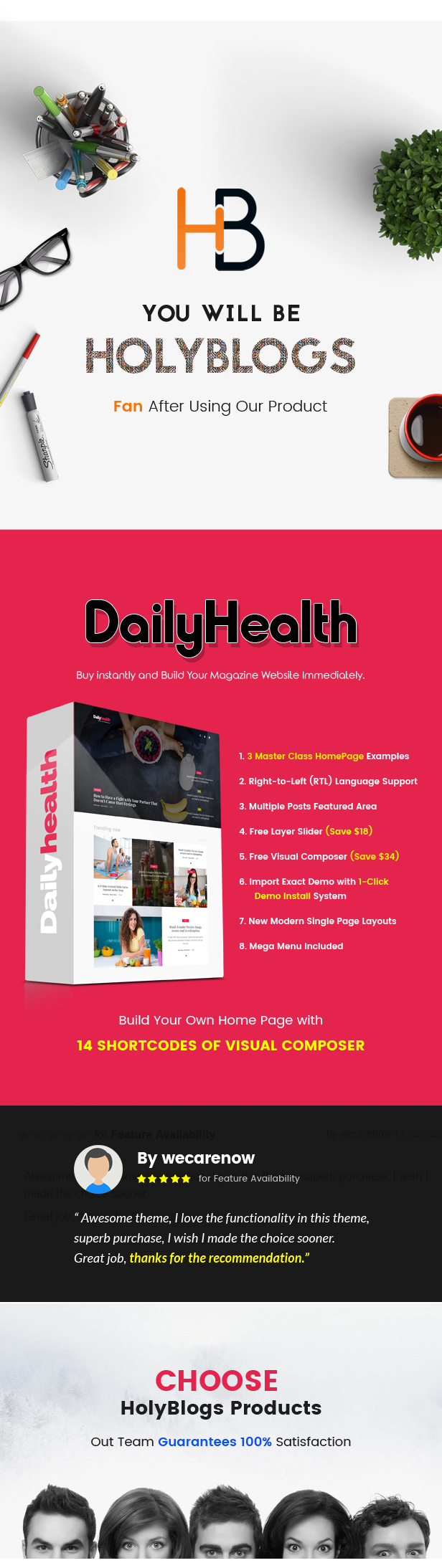 DailyHealth - A Professional Health and Medical Blog and Magazine WordPress Theme - 2