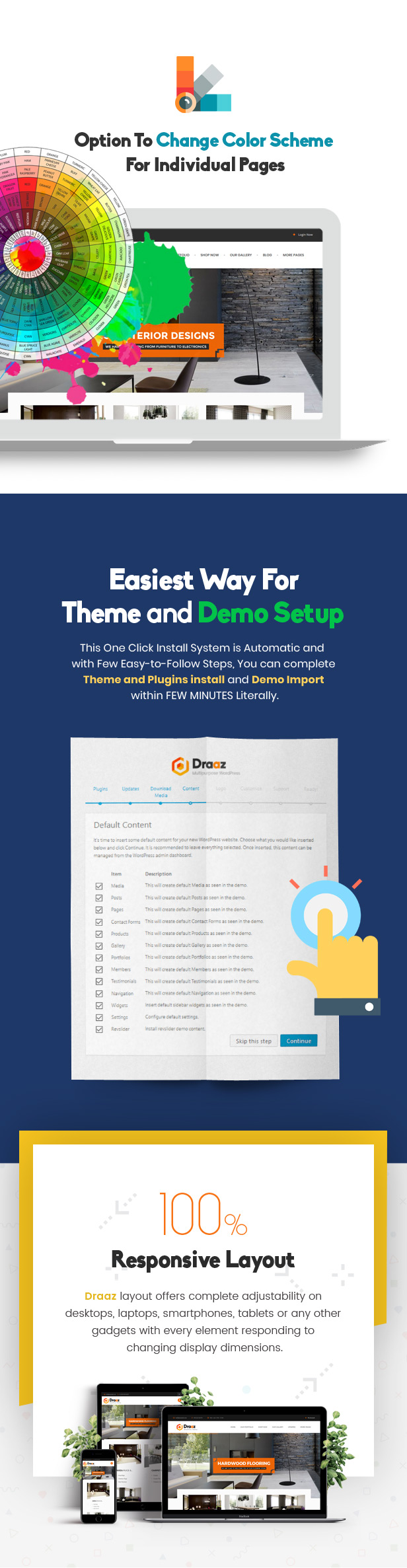 Draaz - Cryptocurrency and Flooring Multipurpose Business WordPress Theme - 4