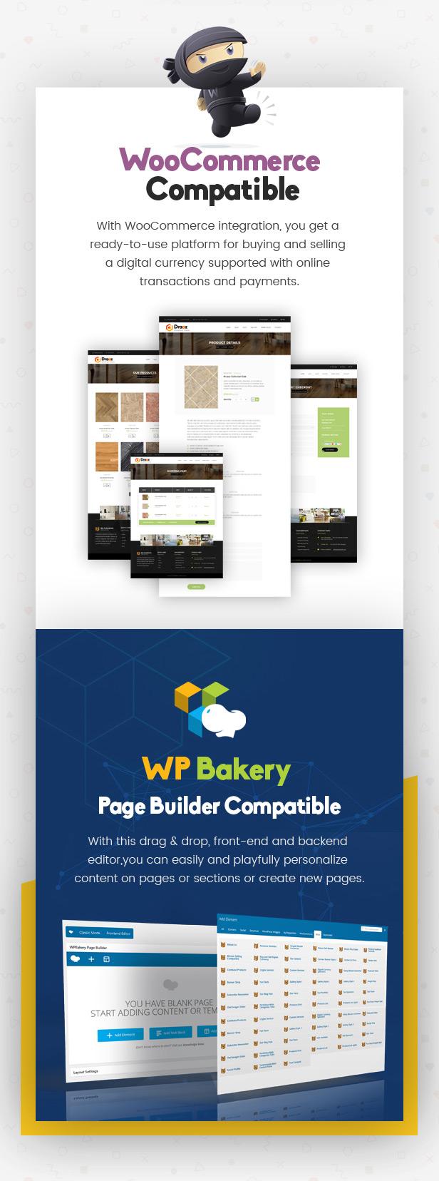 Draaz - Cryptocurrency and Flooring Multipurpose Business WordPress Theme - 5