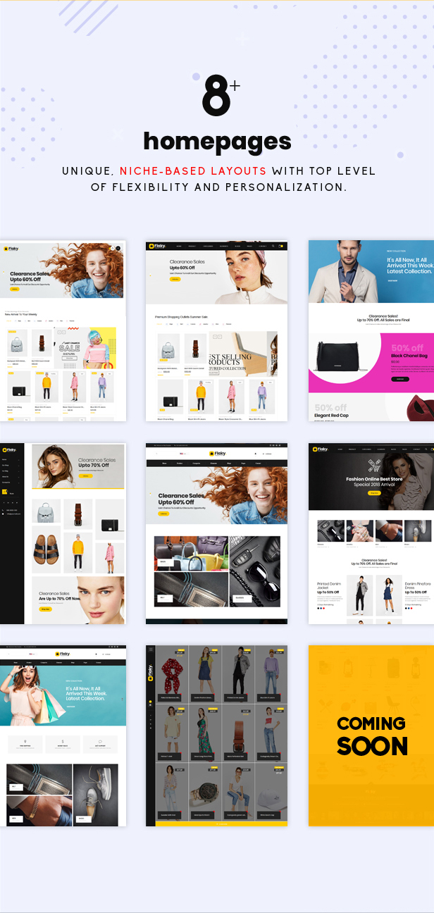 Flaky - An eCommerce Theme - 3