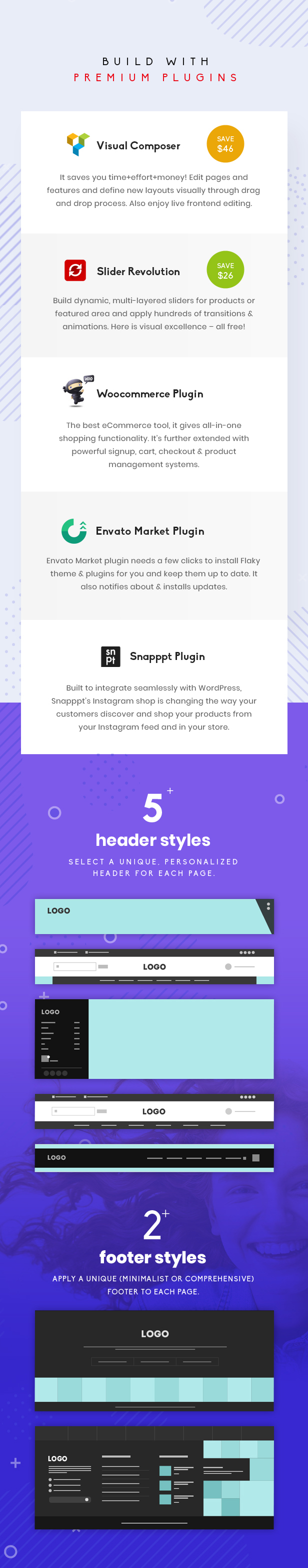 Flaky - A Responsive WooCommerce Theme for Online Shopping Websites - 5