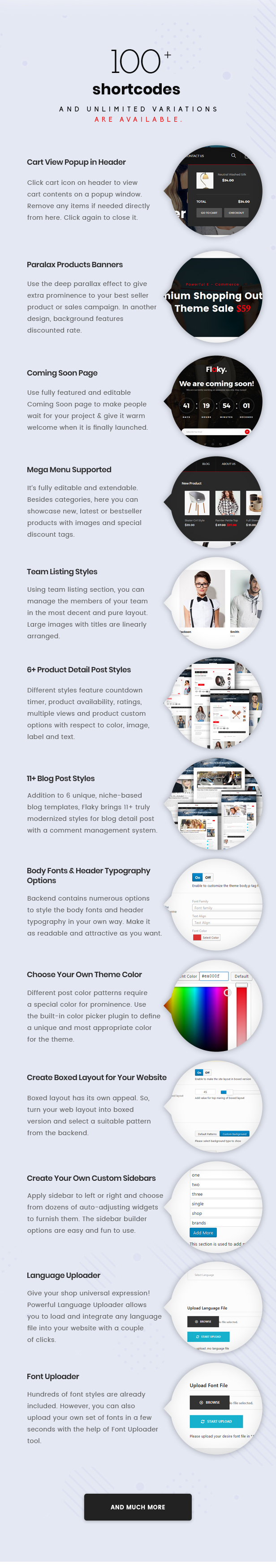 Flaky - An eCommerce Theme - 9