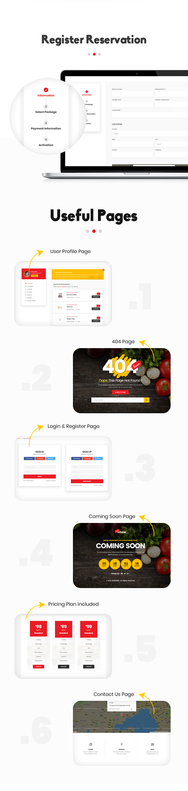 FoodChow - A Food Ordering or Hotel Directory HTML Template - 3