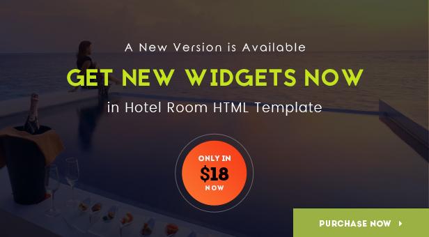 Hotel Room- Minimalist Hotel, Travel HTML Template | Prosyscom Tech 2