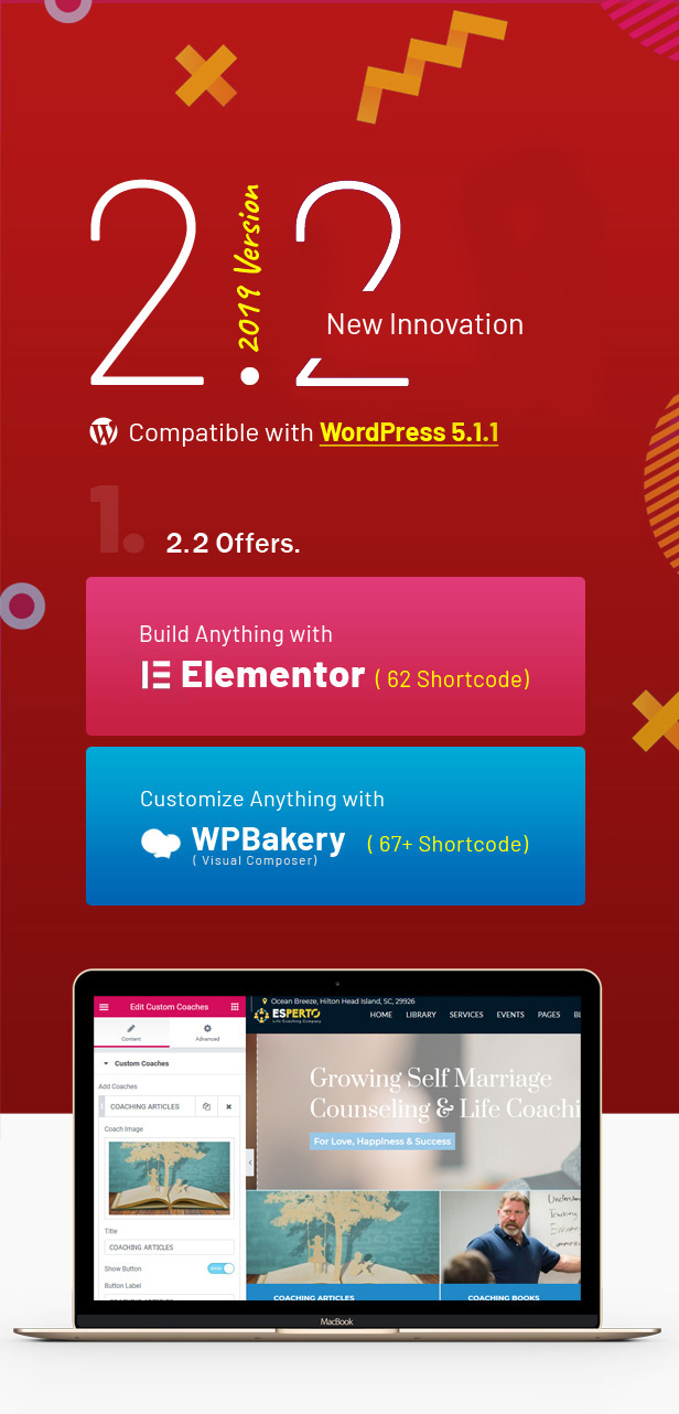 Esperto - A Consultancy and Coaching WordPress Theme - 1