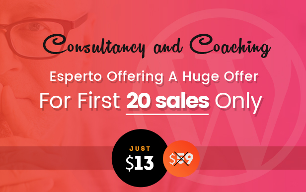 Esperto – A Consultancy and Coaching WordPress Theme (Education)