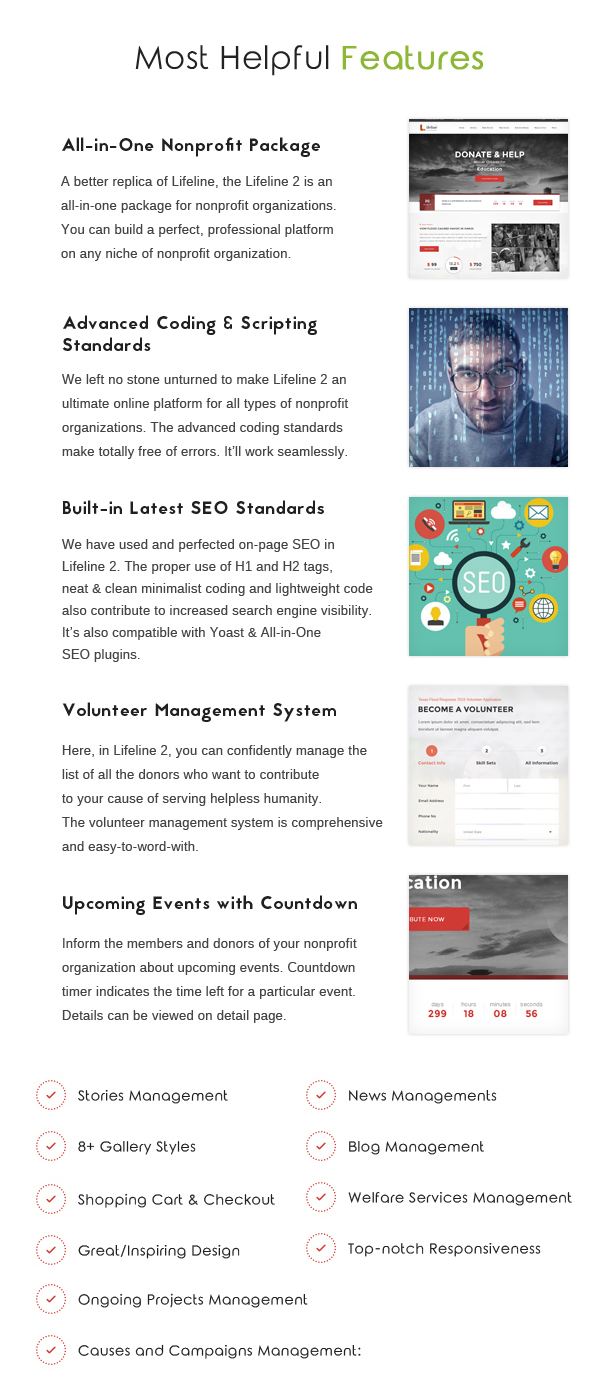 Lifeline 2 - An Ultimate Nonprofit WordPress Theme for Charity, Fundraising and NGO Organizations - 5