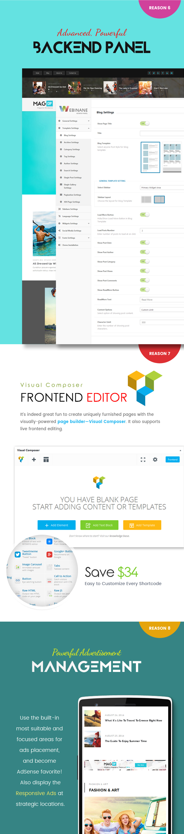 MagUp - Modern Styled Magazine WordPress Theme with Paid / Free Guest Blogging System - 7