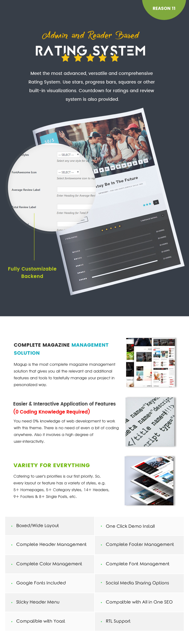 MagUp - Modern Styled Magazine WordPress Theme with Paid / Free Guest Blogging System - 9