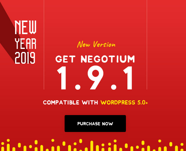 Negotium - Multipurpose Business WordPress Template - 1
