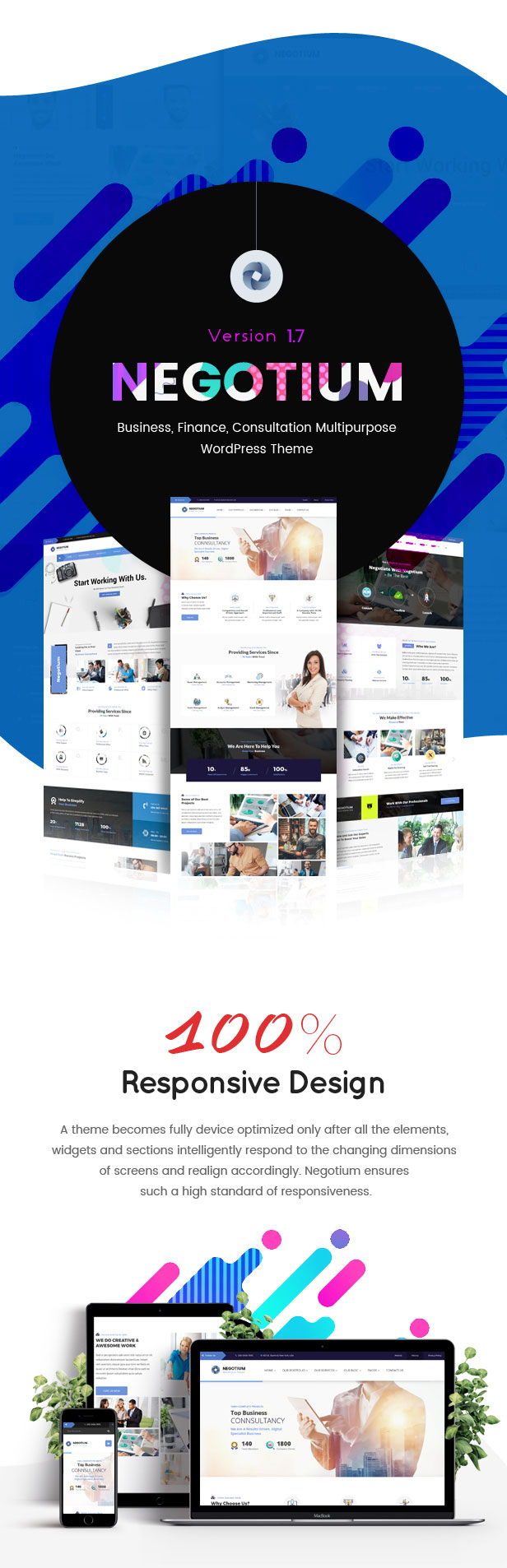 Negotium - Multipurpose Business WordPress Template - 2