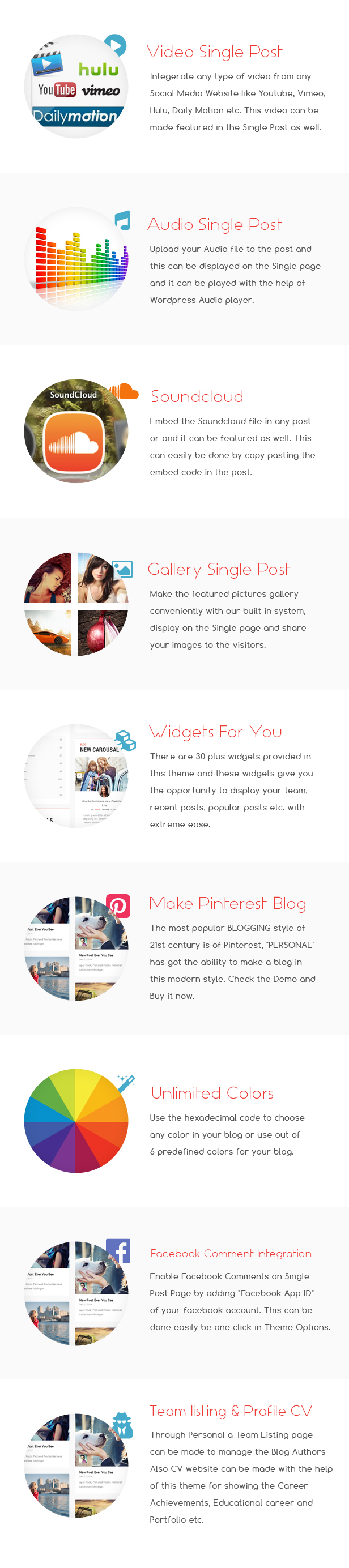 Personal - Best Blog, CV and Video WordPress Theme by webinane ...