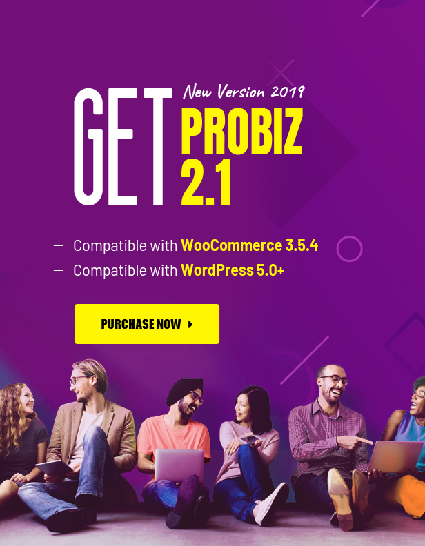 Probiz - An Easy to Use and Multipurpose Business and Corporate WordPress Theme - 1